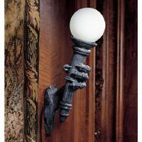 Medieval European Dragon Talon Wall Lamp Gothic Light Torchiere