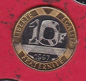 10 FRANCS GENIE DE LA BASTILLE 1997 DU COFFRET BU
