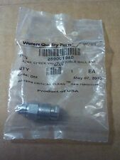 WATERS QUALITY PARTS Assy 289001940 Check Valve,Double Ball and Seat. code DW