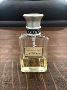 VINTAGE Abercrombie & Fitch Woods 1.7 Oz Cologne AUTHENTIC 40% Full Rare Vintage