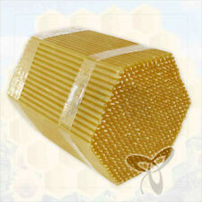 """175g. Beeswax natural candles 5.9"""" high Quality свечи воск (about 50 ps.)"""