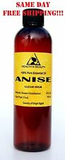 ANISE ESSENTIAL OIL by H&B Oils Center AROMATHERAPY 100% PURE 4 OZ