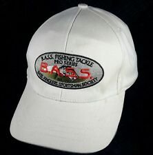 Bass Anglers Sportsman Society Pro Series Fishing Tackle Dad Hat Beige Summer