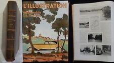 Revue  L'ILLUSTRATION 1931 -3- (L'automobile, Gandhi, Noël...)