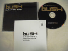 BUSH  The People That We Love  MAXI CD