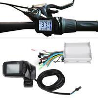 24V 36V 48V Electric Bicycle E-bike Brushless Motor Controller LCD Panel Kits