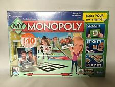 Monopoly Shutterfly Edition Customizable Personalize your game and pieces New
