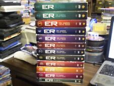 (12) ER Season DVD Lot: Seasons 1-11 + 15     w/Slipcovers  George Clooney