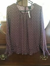 Ann Taylor Factory Blouse XS New With Tags!!