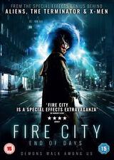 Fire City: End of Days DVD (2016) Tobias Jelinek ***NEW***