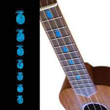 Pineapples ( Turquoise Blue ) Fret Marker Inlay Sticker Decal For Ukulele