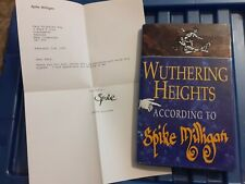 More details for wuthering heights according to spike milligan book signed and with signed letter