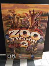 Zoo Tycoon 2 African Adventure Expansion Microsoft Game Studios PC Complete 2006