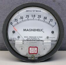 """Dwyer 2002 Magnehelic 0-2.00"""" w.c. H2O Pressure Gauge NEW NIB Magnahelic gage"""