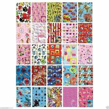 Wrapping Paper + Gift Tag Childrens OFFICIAL Birthday Party Gift Wrap Adults