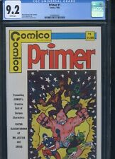 Primer #1 CGC 9.2 Grendel Preview Ad for Primer #2 has image of Grendel
