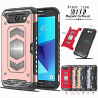 Hybrid Hard Armor Case Shockproof Cover For Samsung Galaxy J7 V 2017/J7 Sky Pro
