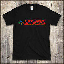 SUPER NINTENDO SNES CONSOLE T-SHIRT Vintage Retro Classic 90s Video Games To 4XL