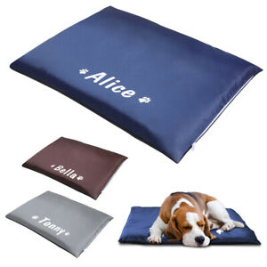 Waterproof Personalised Dog Bed Mat Pet Cat Puppy Mattress Cushion Pad for Crate