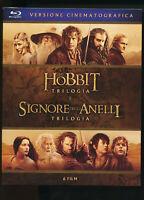 PLTS Lo Hobbit - Il Signore degli Anelli Trilogia BLU-RAY D252010