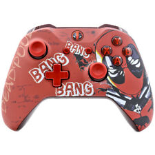 """""""Deadpool 2"""" Xbox One S Rapid Fire Modded Controller 40 Mods ALL SHOOTER GAMES"""