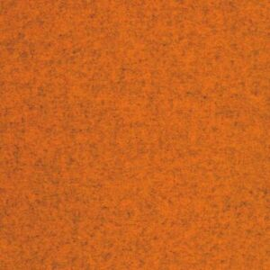 7/8 yd Maharam Divina Melange 521 Kvadrat Orange Wool Fabric Free Ship! C7184