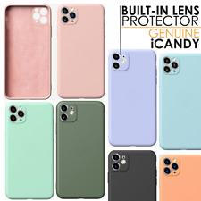 Case For iPhone 11, iPhone 11 Pro, Pro Max Liquid Silicone Lens Protector Cover