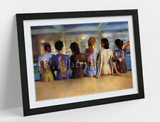 PINK FLOYD PAINTED BACK CATALOGUE -ART FRAMED POSTER PICTURE PRINT ARTWORK-