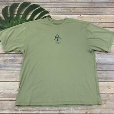 Life Is Good Mens Activewear Shirt Sz L Light Green Mountain Biking Short Sleeve