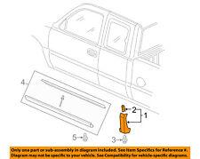 Chevrolet GM OEM 03-06 Silverado 1500 Exterior-Cab-Molding Trim Left 88979998