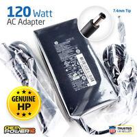Original HP Laptop AC Power Supply Adapter Charger 120W 19.5V 6.15A HSTNN-DA25