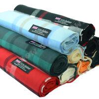Men Women Unisex 100% CASHMERE Classic Scarf Soft Tartan Stripe Plaid SCOTLAND