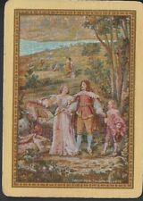 Vintage Playing/Swap Cards  Louis XVI TAPESTRY Old Wide