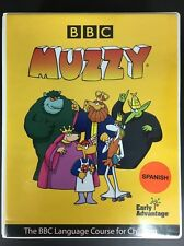 BBC Muzzy Spanish Video Language Course 5 VHS 1 DVD 2 Cassettes Vocabulary Books