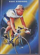 CYCLISME carte HANS KINDBERG  (equipe CASTORAMA ) 1992