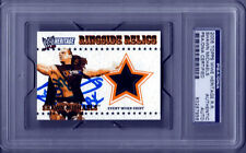 2005 Topps WWE WWF Heritage Ringside Relic Shawn Michaels Signed PSA/DNA Slabbed
