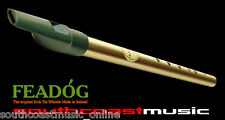 IRISH TIN WHISTLE FEADOG D w INSTRUCTION LEAFLET REAL INSTRUMENT BRAND NEW @scm