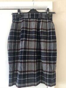 vintage tartan skirt 8