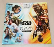 Album collector Disney star Wars Maitriser La Force  complet Leclerc