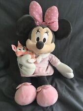 """16"""" Genuine Disney Store Exclusive Minnie Mouse Baby Soft Toy Plush stamped"""