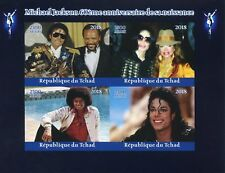 Chad 2018 MNH Michael Jackson Janet 4v IMPF M/S Music Celebrities Stamps