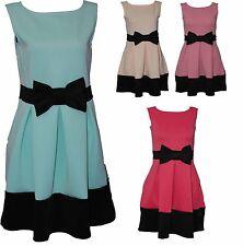 Unbranded Polyester Patternless Sleeveless Dresses for Women