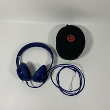 Beats Solo 3 Wireless On-Ear Headphone Blue With iPhone Adapter