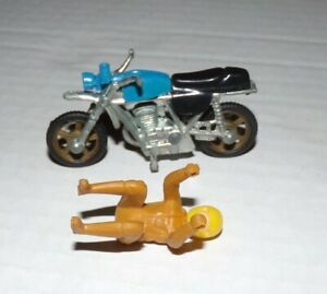 1970 Vintage  Matchbox Hotwheel ? BULTACO Motorcycle With Driver