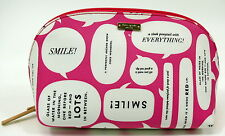 NWT Kate Spade Large Annabella Beauty Tips PINK  Makeup Cosmetic Bag $88