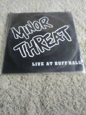 Minor Threat Live at Buff Hall Lost and Found 1st Pressing VG+ condition