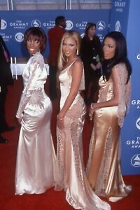 Destiny's Child Beyonce Knowles Beautiful 35mm slide image   2001 R45