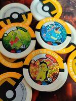 Pokemon Typhlosion Feraligatr Meganium HOLO shiny Battrio rare coin chip