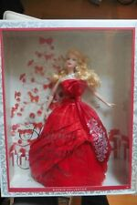 NEUF - Poupée Holiday Barbie 2012 Noel Barbie Collector Mattel Happy Holidays