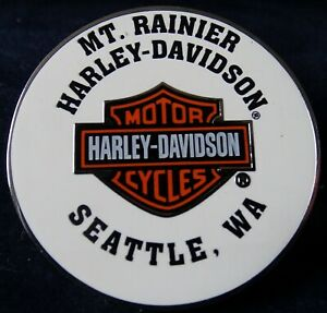 Harley Davidson Seattle Washington  PIN  New Motorcycle Biker
